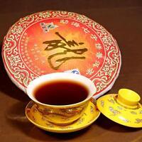 Top quality Puerh tea,2012 Menghai Shu Pu-erh,357g Yunnan Ripe Puer,Dragon,gifts