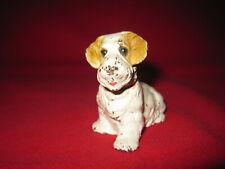 Vintage cast iron Hubly Sealyham Terrier dog paperweight figurine