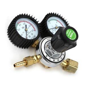Home CO2 Gas Bottle Pressure Regulator Reducer Gauge Welding Tool Professional