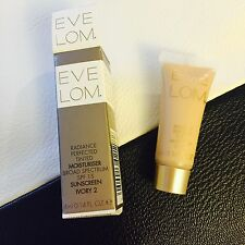 Eve Lom Radiance Perfected Tinted Moisturizer SPF 15 Ivory 2 Travel Size 4ml