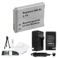 NB-6L NB-6LH Batt+Charger+BONUS for Canon SD1200 SD3500 SD4000 SX240 SX260 SX500