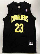 Lebron James Cleveland Jersey Black And Yellow