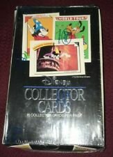 1991 Impel Disney Collector trading cards factory sealed box 36 unopened packs