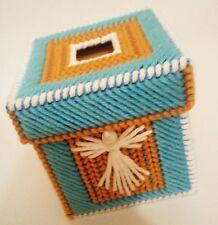 Handmade-Angel (Mini) Tissue Box Holder Cover Plastic Canvas 3 2/4 x 3 2/4