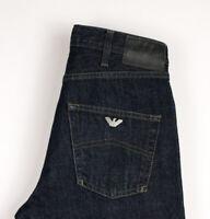 Armani Jeans Herren Slim Gerades Bein Jeans Größe W28 L34 ASZ100