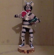 "Vintage Hopi Kachina figure. Cottonwood. Multicolor. Handmade. 11""."
