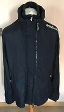 Superdry, Size XXL, Mens, Navy & White, Triple Zip, The Proffesional Windcheater