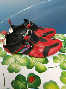 vintage Men's Brancale Hawaii Retro Italian Road/RacingCycling Shoes