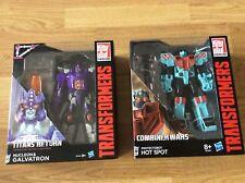 Vendeur FR_Transformers Nucleon & Galvatron et Hot Spot Hasbro NEUF