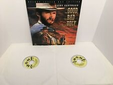 THE GOOD THE BAD AND THE UGLY Deluxe Letter Box Edition Laserdisc 2 discs
