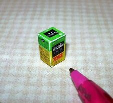 Miniature Box of Miraculous Plant Food for DOLLHOUSE Miniatures 1/12 Scale