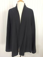 NWT Eileen Fisher Woman sz 2X gray short jacket yoke washable stretch crepe