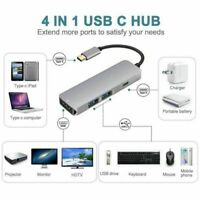 USB C Hub Type C To HDMI Adapter 2 USB 3.0 Ports Charging Power Delivery