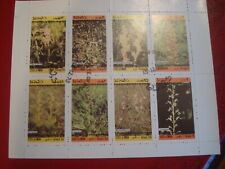 OMAN - 1973 WILD FLOWERS - UNMOUNTED USED MINIATURE SOUVENIR SHEET