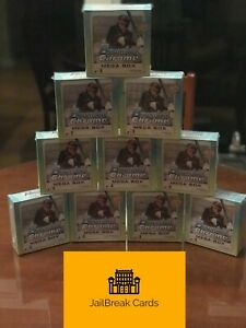 New York Mets 2020 Bowman Chrome Mega 10 Box 1/4 Case Break PYT2 MOJO!!!