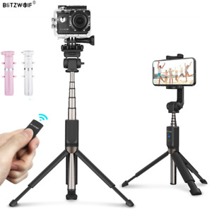 BlitzWolf BW-BS5 Extended bluetooth Tripod Selfie Stick With Remote Shttuer