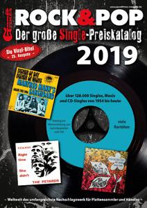Rock & Pop Single Preiskatalog 2019 neu ovp kein Porto