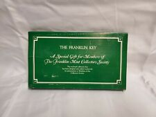 The Franklin Key Special Collector Pewter Key For Franklin Mint Members