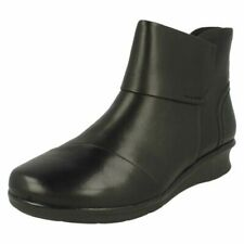 Ladies Clarks Ankle Boots Hope Track