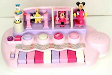 Vintage Disney Kiddieland Animated Mickey Mouse Piano Keyboard SEE VIDEO