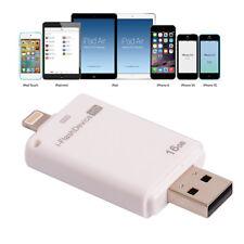 O10 16gb I-Flash Driver HD Disk USB iPhone ipad iPod OTG external lector de tarjetas