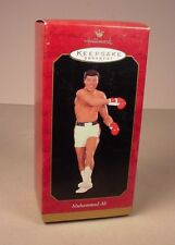 Hallmark Muhammad Ali Christmas  holiday ornament  MIB 1999 Boxing Sports Boxer