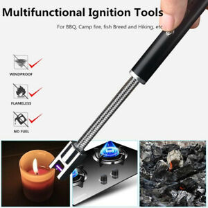 BBQ Candle Kitchen Windproof Rechargeable USB Long Flexible Electric/ARC Lighter