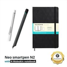 Bundle Promotion- Digital Moleskine notebook with Neo smartpen N2