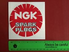 NGK Vintage Automotive Performance RACING part stickers