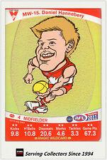 2011 AFL Teamcoach Cards Magic Wild Card MW15 Daniel Hannebery (Sydney)