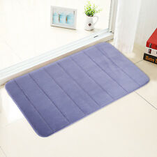 New Memory Foam Luxurious Anti-slip Bathmat Super Soft Bathroom Rug