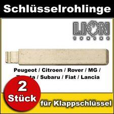Schlüsselrohling für Klappschlüssel Zentralverriegelung Rover, MG, Subaru, Fiat