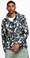 Brand New Nike Essential Camo Jacket XL Hooded Windbreaker