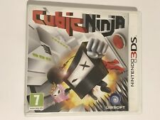 Cubic Ninja - Nintendo 3DS - COMPLETE UK PAL VGC *FREE & FAST UK POST*