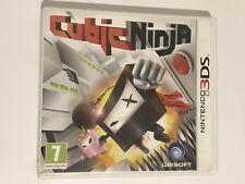 Cubic NINJA-nintendo 3DS-Completo UK Gioco in buonissima condizione * LIBERO & VELOCE UK *