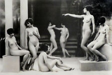 Albert Arthur Allen Photo, Posed Female Figures, Group Choreography, 1920s