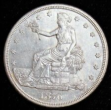 1876-S Trade Dollar $1. Gem AU. Superb Coin!