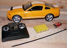 FORD GT500 1:14 RC FB 27 MHz Kids Kinder Renn auto Fahrzeug 2170 Gelb Weis licht