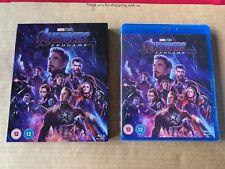 Avengers Endgame (2019) Blu Ray NEW & SEALED With Slipcase Marvel Iron Man MCU
