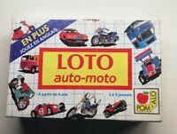 Jeux Pom'alo Loto Auto-moto Vintage Des 4 Ans Idée Cadeau vintage 1988