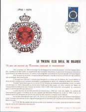 FA24 Editions Frisch  Touring club royal de belgique cachet 13-2-1970 Bruxelles