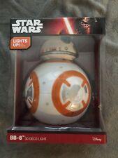 Disney Star Wars BB-8 3D Deco Light New in Unopened Original Packaging Lights Up