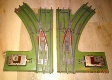 Prewar LIONEL 223 Standard Gauge Switches (L&R)- BOTH NEED REPAIRED  lot 117