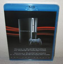 Welcome To PlayStation 3 SEALED NEW 2008 PROMO Non-Game Blu-ray PSN