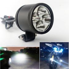 2 X 40W 6000-7000K White 4LED Motorcycle Headlight Driving Fog Lamps Spot Lights