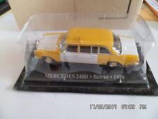 MERCEDES 240 D TAXI BEIRUT 1970   1/43  G4