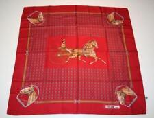 Écharpes et châles foulards à motif Empreintes animales pour femme, en 100% soie