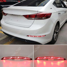For Hyundai Elantra 2017-2018  LED Rear Bumper Brake Warning Light /Turn Signal