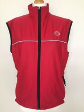 Unisex Crane Sports Techtex Speed Racer Vest Running Cycling Sports Red Black M