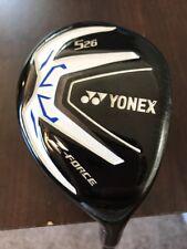 Yonex Z Force 5 Hybrid 26° Yonex M60 Graphite Regular RH 910 w/ Head Cover